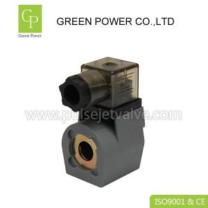 پالس Goyen دریچه DIN43650A برقی سیم پیچ K301 50HZ / 60Hz قدرت
