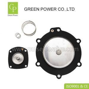 Turbo M75 M25 dust collector valve FP75 SQP75 SQP100 3 inch viton membrane