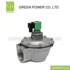 DMF-Z-62S bag house pulse valve, DC24V DN62 2.5 inch diaphragm valve for dust collector